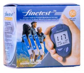 Testovacie prúžky Finetest, 50ks